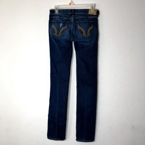 Hollister Dark Wash Skinny Jeans Sz 1 Long